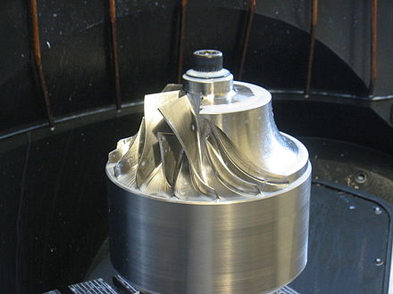 Impeller machined using STEP-NC STEP-NC impeller.jpg