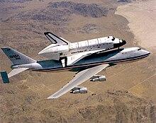 Shuttle Carrier Aircraft - Wikipedia