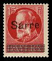 Saar 1920 20 König Ludwig III.jpg