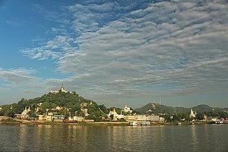 Sagaing - Image: Sagaing Hill