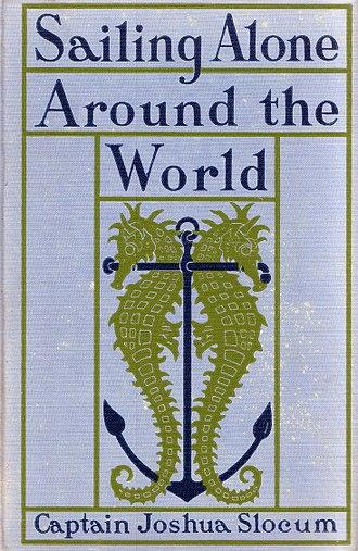 Sailing Alone Around the World - Original cover