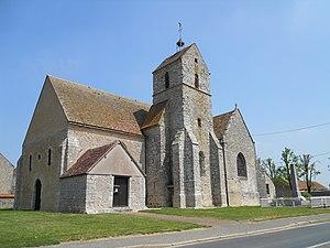 Beauvilliers, Eure-et-Loir - Image: Saint Martin de Beauvilliers (28)