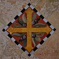 Saint Catharine of Siena Church (Columbus, Ohio) - stone inlay, cross & grapes.jpg