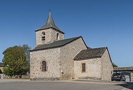 Saint Julitta Church of Onet-l'Eglise 02.jpg
