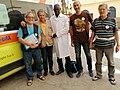 Saint Louis donazione dell'ambulanza all' ospedale della città.jpg