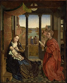 Painting by Rogier van der Weyden