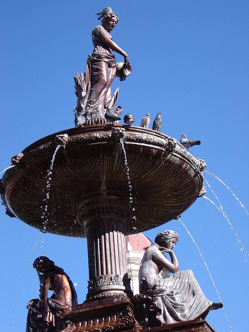 Saltillo Fuente plaza de armas.jpg
