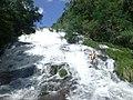 Salto Piedras Blancas desde la base del salto.JPG