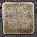 Salzburg - Lehen - Ignaz-Harrer-Straße 34 - Stolperstein Emma Neumayr.jpg