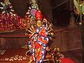 Samta -Maa Shinghabahini, on Durga Puja's Nabami.JPG