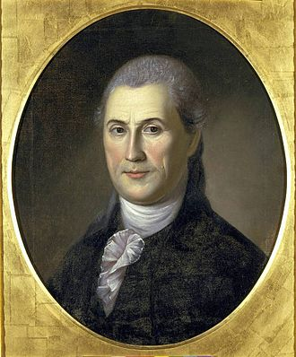 Samuel Huntington (Connecticut politician) - Image: Samuel Huntington Charles Willson Peale