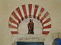 San Cebrián de Mazote iglesia arco mozarabe y San Roque ni.jpg