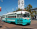San Francisco PCC car 1076, Washington DC livery.jpg