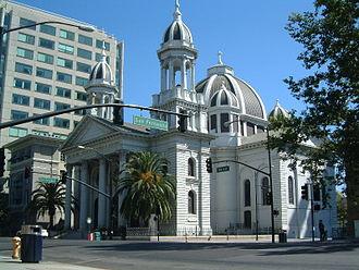 Demographics of California - Image: San Jose Basilica