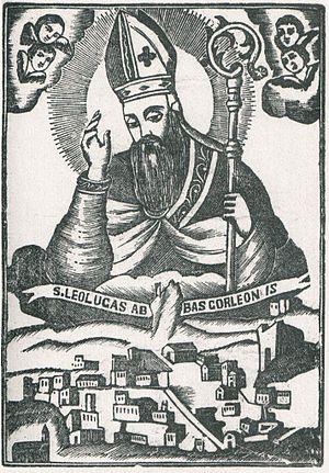 Leoluca - Votive image of St. Leoluca