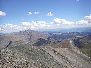 San Luis Peak mountain in United States of America