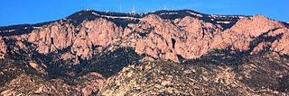 Sandia Crest Highpoint of the Sandia Mountians in New Mexico, United States