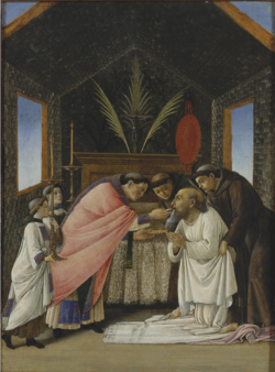 Sandro Botticelli, The Last Communion of Saint Jerome.png