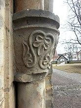 Fil:Sankt Olofs kyrka i Falköping 0827 sydportal.jpg