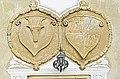 Sankt Veit an der Glan Niederdorf Renaissanceschloss Wappen ueber Eingang 14102010 056.jpg