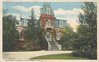 Benjamin Franklin Perry - Sans Souci, former home of Gov. Perry.