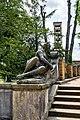 Sanssouci - Parkanlage - Blick zur Friedenskirche - DSC4445.jpg