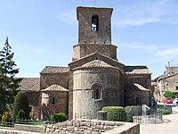 Santa Maria de l'Estany. La capçalera.JPG