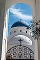 Santorin (GR), Perissa, Kirche -Timios Stavros- -- 2017 -- 2518.jpg