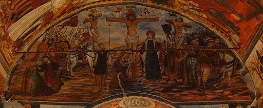 SantuarioDiSanMagno-Cappella antica, Crocefissione