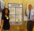 Sara and Pete presenting Communicate OER poster.jpg