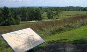 Battles of Saratoga - Modern view of the battleground of Freeman's Farm