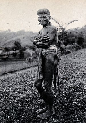 Ukit people - Image: Sarawak; a Ukit tribesman. Photograph. Wellcome V0037430