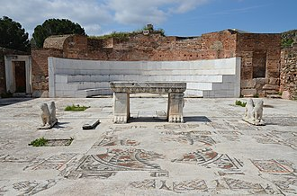 God-fearer - Sardis Synagogue (3rd century, Turkey) had a large community of God-fearers and Jews integrated into the Roman civic life.