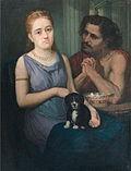 Sava Hentia - Autoportret cu logodnica.jpg