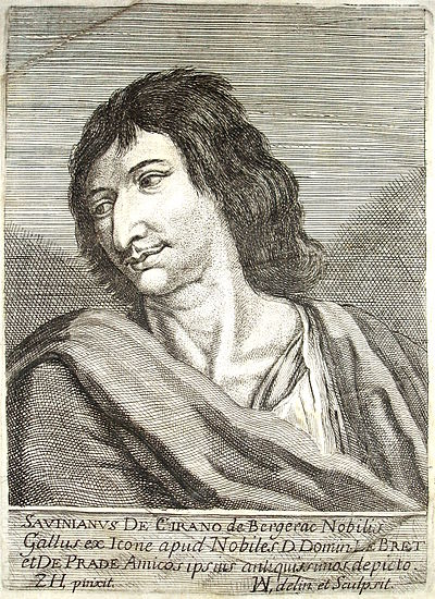 Cyrano de Bergerac, French novelist, dramatist, scientist and duelist