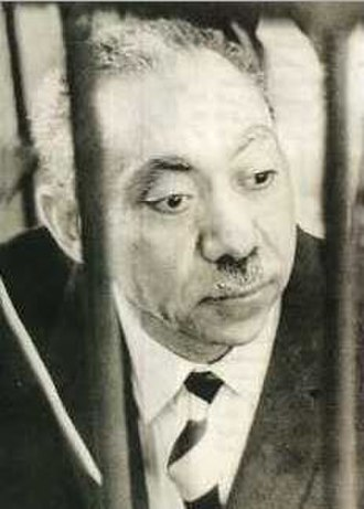 Sayyid Qutb - Sayyid Qutb on trial in 1966 under the Gamal Abdel Nasser regime