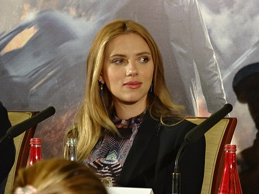 Scarlett Johansson - Captain America 2 press conference