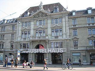 Schauspielhaus Zürich theatre building in Zurich, Switzerland