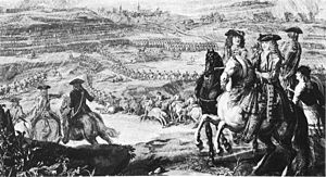 Battle of Schellenberg - Image: Schellenberg 1704