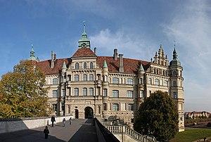 Güstrow - Güstrow Palace, a marvel of Renaissance architecture