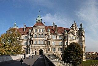 Güstrow Place in Mecklenburg-Vorpommern, Germany