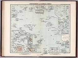 Schutzgebiet der Marshall-Inseln-Deutscher Kolonialatlas 1897-Justus Perthes-Karte 30.jpg