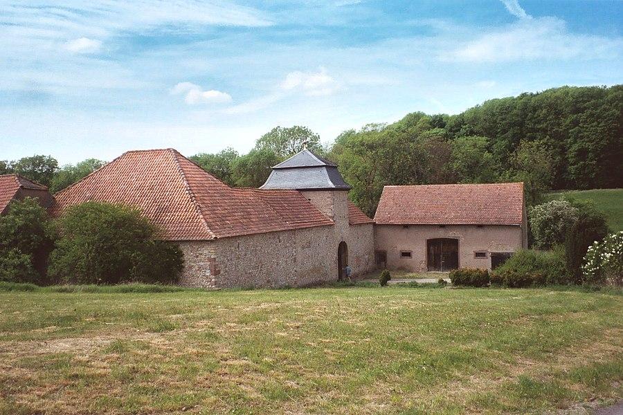 Schwerdorff, the castle Esch