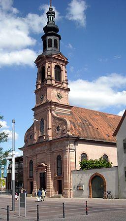 Schwetzingen Evangelische Stadtkirche 20090504