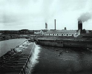 Matane - Lumber mill of Price Company, Matane, circa 1914