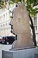 Sculpture Leibniz-Denkmal Stefan Schwerdtfeger Georgsplatz Hanover Germany.jpg
