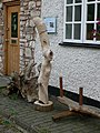 Sculpture at Pandy Mill Gallery - geograph.org.uk - 568298.jpg
