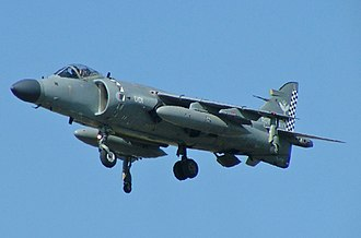 British Aerospace Sea Harrier - Image: Sea Harrier (cropped)