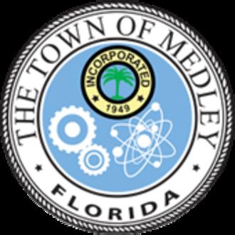 Medley, Florida - Image: Seal of Medley, Florida