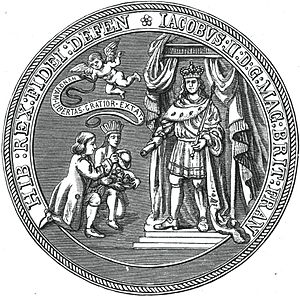 Dominion of New England - Image: Seal of the Dominion of New England